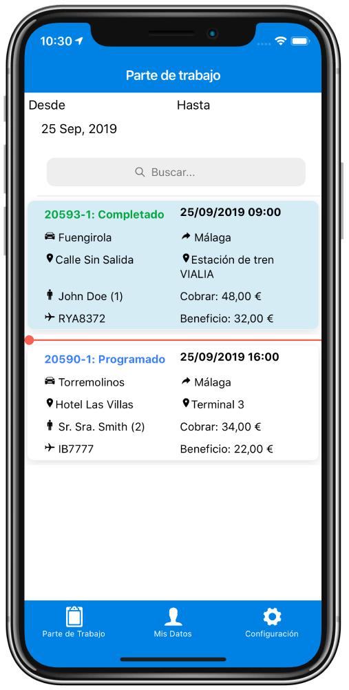 App VeoTransfer
